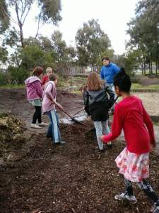 a parent helper or volunteer to supervise a garden team makes the activity so much more meaningful
