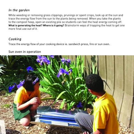 energy in the garden