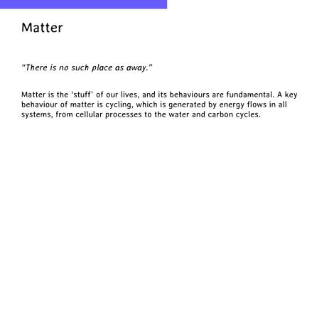 matter intro